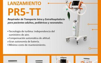 Felicitamos a la empresa «LEISTUNG» por el reciente lanzamiento en nuestro país de su innovador Respirador de Transporte.