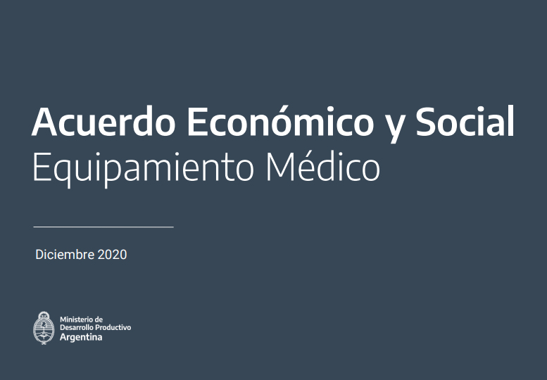 Mesa de Tecnología Médica. Cierre de lo trabajado en los cuatro encuentros 2020 de los cuales participó CAEHFA