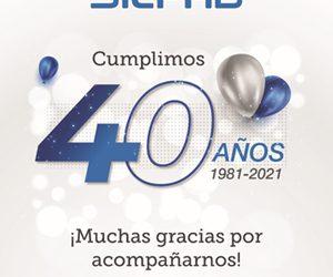 Felicitamos a la empresa SILFAB por sus primeros cuarenta años de vida…!!! En nombre de todos los integrantes de CAEHFA Feliz Cumple…!