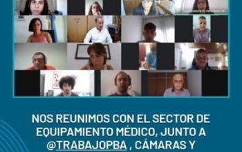 Mesa Técnica Sectorial Equipamiento Médico Feb. 2021 CAEHFA | Ministerio de Producción | Gobierno de la Prov. de Buenos Aires