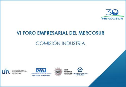 CAEHFA participa del VI Foro Empresarial del Mercosur realizado el 26 de mayo, en en el marco de la Presidencia Pro Tempore de Argentina del Mercosur y las actividades conmemorativas de los 30 años del bloque.