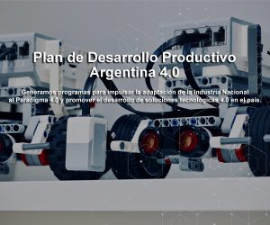 Plan de Desarrollo Productivo Argentina 4.0