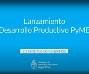 CAEHFA participa de la presentación del programa «Desarrollo Productivo PyME»